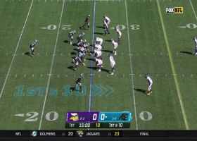 Bashaud Breeland's first INT as a Viking comes on first snap of game