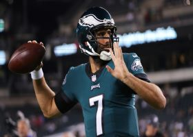 Is it time for Eagles to start Joe Flacco over Jalen Hurts? | 'NFL Total Access'