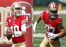 Rapoport: Garoppolo battling high-ankle sprain, Bosa believed to have torn ACL