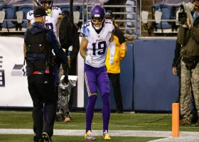 Adam Thielen backpedals into end zone for second TD of game