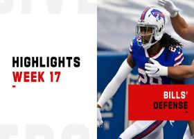 Bills' best defensive plays from 4-turnover game | Week 17