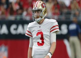 MJ Acosta: San Francisco 49ers quarterback C.J. Beathard didn't practice on Tuesday