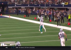 Can't-Miss Play: Parker hauls in sensational bobbling catch from Rosen for 40-yards