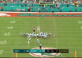 Fins go up two scores as Jason Sanders boots 51-yard FG