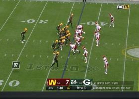 Montez Sweat forces clutch fumble in Packers' territory