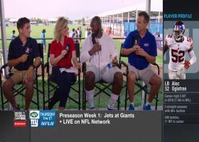 New York Giants linebacker Alec Ogletree on rookie quarterback Daniel Jones: 'He's feeling more comfortable'