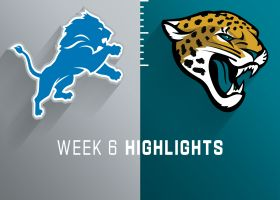 Lions vs. Jaguars highlights | Week 6