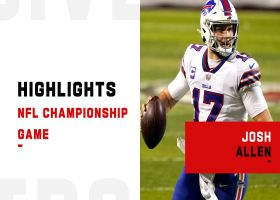 Josh Allen's best plays vs. Chiefs | AFC Championship Game