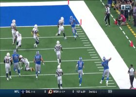 Kerryon Johnson holds on to bobbled ball for 36-yard TD