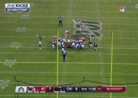 Harrison Butker drills 56-yard FG