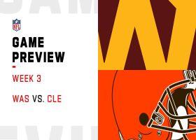 Washington vs. Browns preview | Week 3