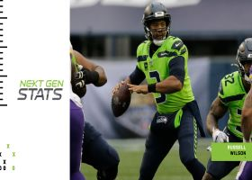 Next Gen Edge: Russell Wilson extremely efficient throwing from shotgun