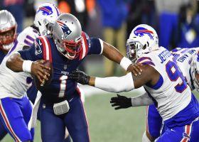 Quinton Jefferson leads Bills' ambush to drop Cam Newton for big loss