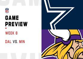 Cowboys vs. Vikings preview   Week 8