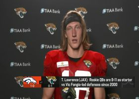 Trevor Lawrence lists areas he must improve in Week 2