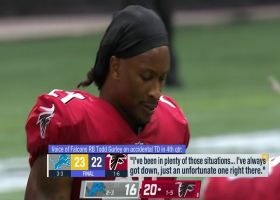 Todd Gurley breaks down his accidental fourth-quarter TD vs. Lions