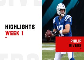 Philip Rivers' best passes from 363-yard Colts debut | Week 1