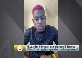 JuJu Smith-Schuster: 'Loyalty' was key in my decision to stay with Steelers