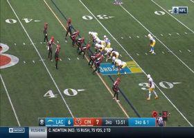 Joshua Kelley cuts back for explosive 26-yard run