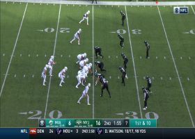 Fitzpatrick fits a LASER between three Jets defenders for 16 yards