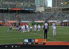 Bengals catch Giants off guard with successful fake punt