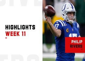 Philip Rivers' best throws from 3-TD game | Week 11