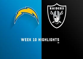 Chargers vs. Raiders highlights | Week 10