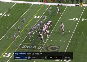 Can't-Miss Play: Big-play Slay! CB makes wild INT off tip