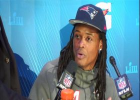 New England Patriots linebacker Dont'a Hightower explains the challenges of facing Los Angeles Rams' two-back rushing attack