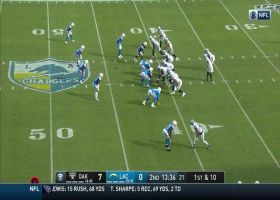Melvin Ingram uses hands to swipe into backfield for sack no. 2