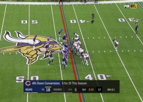 Vikings D' stuffs Trubisky on fourth and short