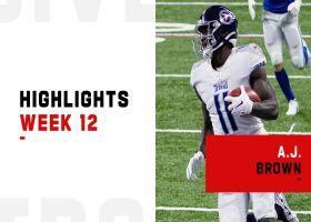 A.J. Brown's best plays from 2-TD game | Week 12