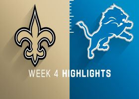 Saints vs. Lions highlights | Week 4
