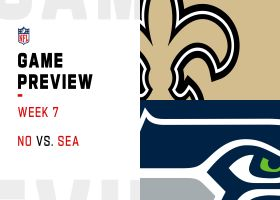 Saints vs. Seahawks preview | Week 7