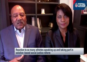 Jim Brown, wife Monique talk about importance of community-led social justice change