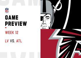 Raiders vs. Falcons preview | Week 12