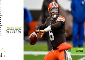 Next Gen Stats: How the Browns clinched a playoff berth in Week 17