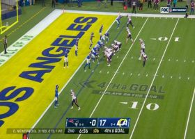 Rams sniff out Patriots' option play for fourth-and-goal TFL