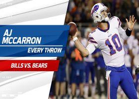 Every AJ McCarron throw | Preseason Week 4
