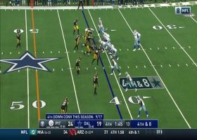 Steelers swarm Garrett Gilbert for clutch third-down sack