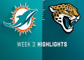 Dolphins vs. Jaguars highlights | Week 3
