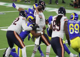Rams envelop Nick Foles for their fifth sack of the game