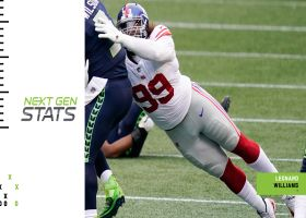 Next Gen Stats: Giants stun Seattle on both sides of the ball