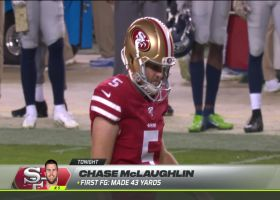 Chase McLaughlin drills 39-yard FG to tie the game