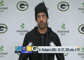 Aaron Rodgers on 'MNF' win: It's nice to get 'the trolls off our back for at least a week'