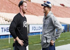 Warner forecasts NFL futures for Jared Goff, Carson Wentz