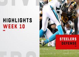Every Steelers sack vs. Panthers | Week 10