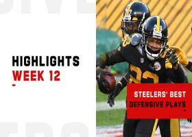 Steelers' best defensive plays in win over Ravens | Week 12