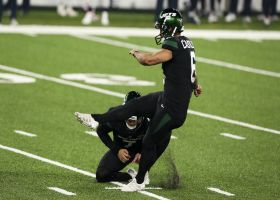 Sergio Castillo drills 50-yard field goal with room to spare