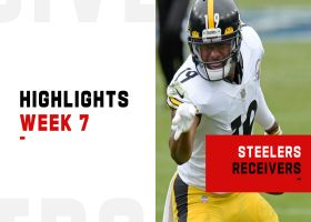 Best plays from Steelers WRs vs. Titans | Week 7